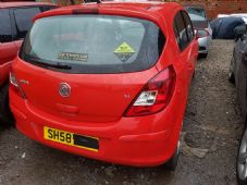 VAUXHALL   CORSA D  RED TAILGATE  inc  GLASS     2010  - 2014  USED